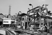 Discard old industrial factory — Stock Photo