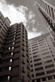Arranha-céus modernos — Foto Stock