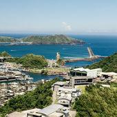 Attractive harbor scenery — Stock Photo