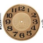 relógio e o ponteiro do relógio — Foto Stock
