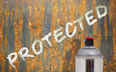 Corrosion protection — Stock Photo