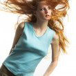 The young sexual woman with red hair — Stock Photo #3265899