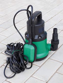 Pump for irrigation plants — Stock Photo