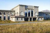 Abandoned Train Station — Stock Photo