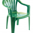 Green plastic chair — Stock Photo #3892496