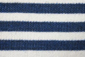 Striped knitted fabric — Stock Photo