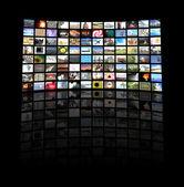 テレビ用パネル — ストック写真