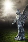 Anjo religioso — Foto Stock
