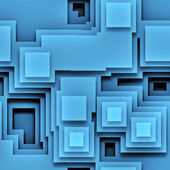 Blue graphic — Stock Photo
