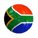 Soccer ball africa — Stock Photo #3262196