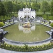Castle linderhof - Stock Photo