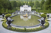 Castle linderhof — Stock Photo