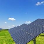 Solar plant — Stock Photo #3528931