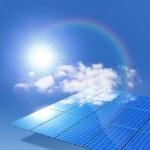 panel solar — Foto de Stock   #3530326