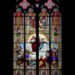 Church window cologne — Stock Photo