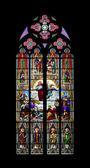 Church window cologne — Stock Photo