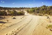 沙漠公路 — 图库照片