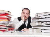 Man at the office — Stock Photo