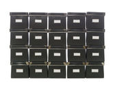 Storage boxes — Stock Photo