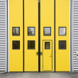 Stock Photo: Garage doorway