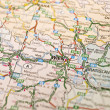 Map of Wienna in Austria — Stock Photo