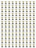 Trophys kolaj — Stok fotoğraf