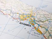Karte von istanbul — Stockfoto
