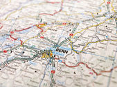 Map of Bern — Stock Photo