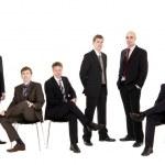 Management team — Stock Photo