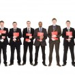 Stock Photo: Group of with documents