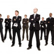 Stock Photo: Group of businessmen