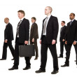 Group of businessmen — Stock Photo