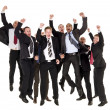 Happy businessmen - Stock Photo