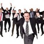 Happy businessmen — Stock Photo #3182965