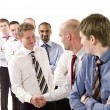 businessmen shaking hands — Stock Photo #3183051