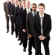 Businessmen on line — Stockfoto #3183171