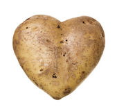 Heartshaped Potato — Stock Photo