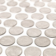 Stock Photo: Quarter Coins
