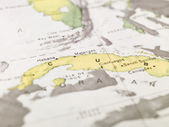 Map of Cuba — Stock Photo