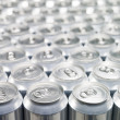 Aluminium Cans — Stock Photo