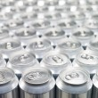 Stock Photo: Aluminium Cans