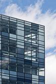 Edificio futuristico — Foto Stock