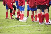Young Soccer Players — Stock Photo