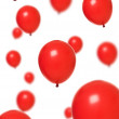 Red balloons — Stock Photo #3846746