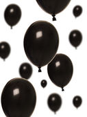 Black Balloons — Stock Photo