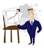 Бизнесмен — Stock Vector