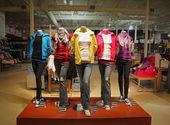 Teenage fashion store — Stock Photo