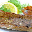 Stockfoto: Grilled pork fillet