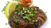 Prato de carne tradicional — Foto Stock