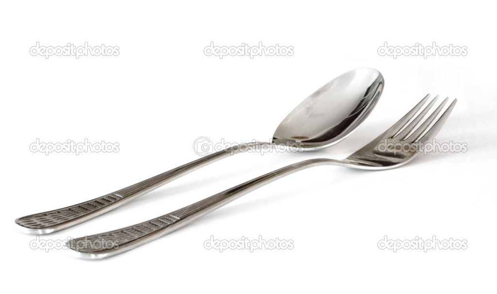 Fork and spoon — Stock Photo #3896504